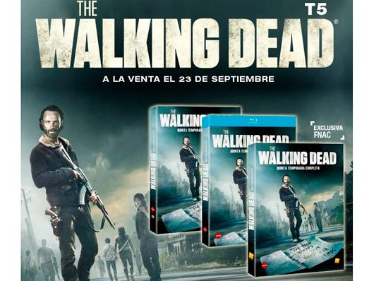 A la venta la quinta temporada de 'The Walking Dead' en Blu-ray, DVD y edición exclusiva Fnac