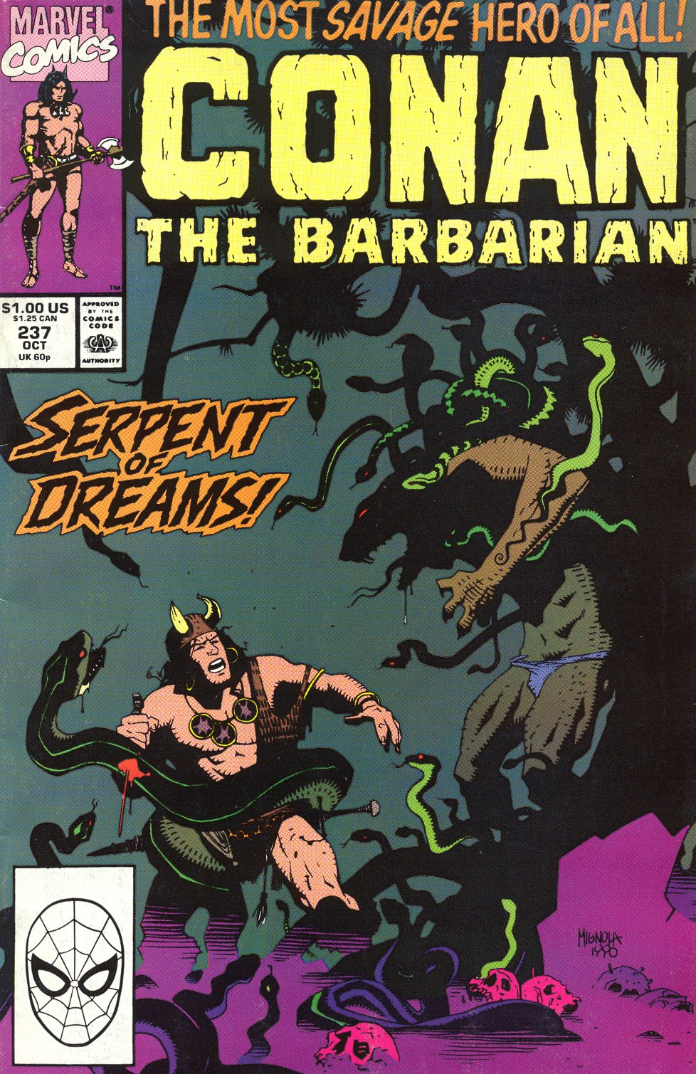 Conan the Barbarian (1970) Issue #237 #249 - English 1