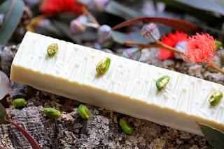 Delícia de xocolata blanca i festucs