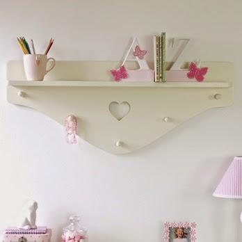 girl wall shelving unit designs