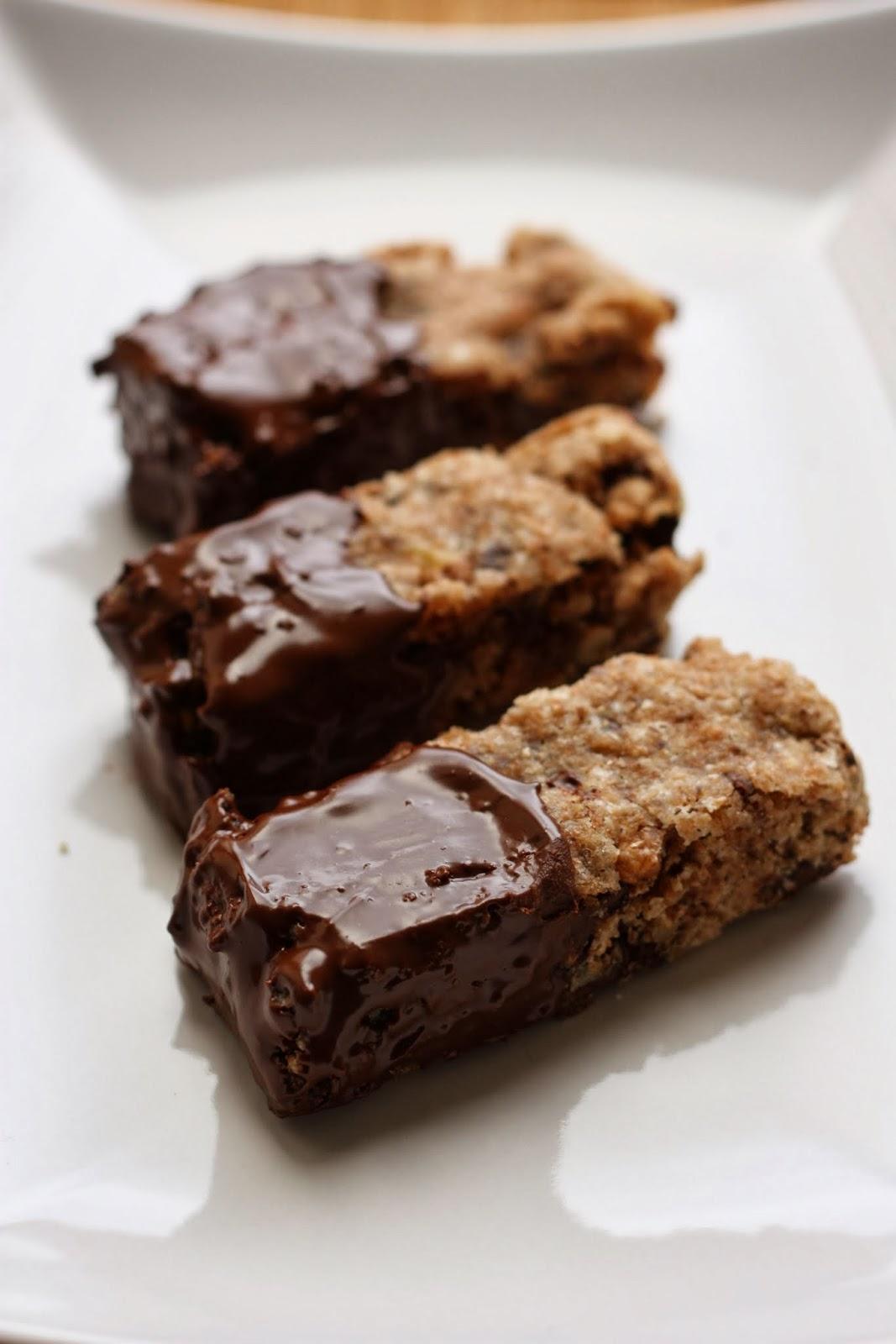 plats de Rose: 'Cookie sticks' ou les cookies en bâtonnets [vegan