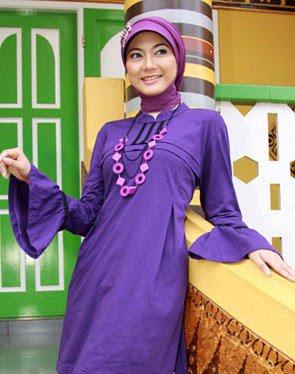 Zenitha Koleksi Busana Muslim Ukuran Big Size ungu