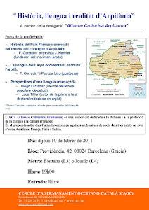 febrer 2011 - Presentació d'Arpitània