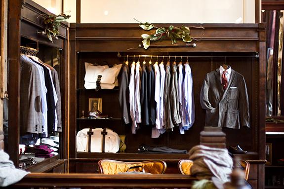 Masculine Monday | Closets