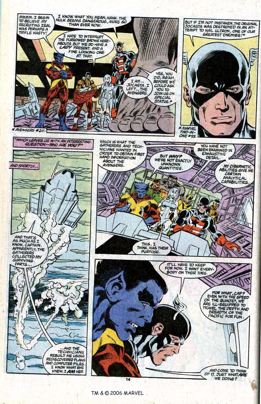 Captain America (1968) Issue #348c #280 - English 16