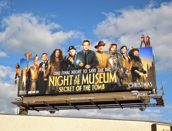 Night at Museum Secret of Tomb billboard