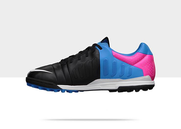 nike ctr360 maestri iii black blue pink