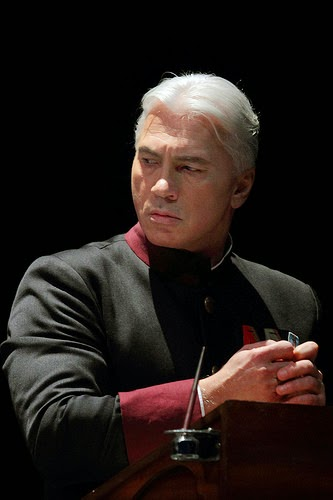 Dmitri Hvorostovsky as Renato in Un ballo in maschera, The Royal Opera © ROH. Photograph by Catherine Ashmore, 2014