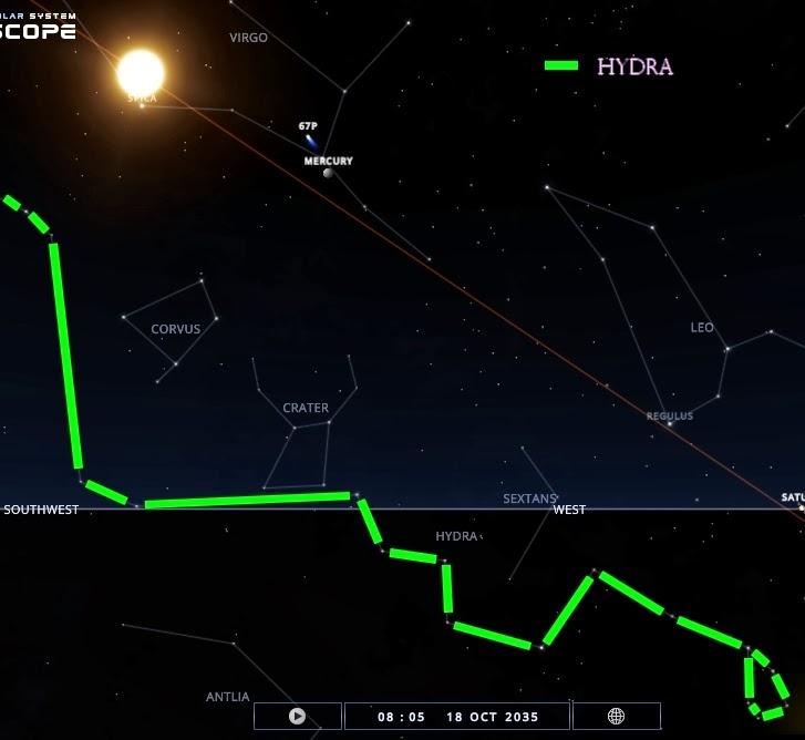 Hydra constelação, mitologia da hidra em hercules