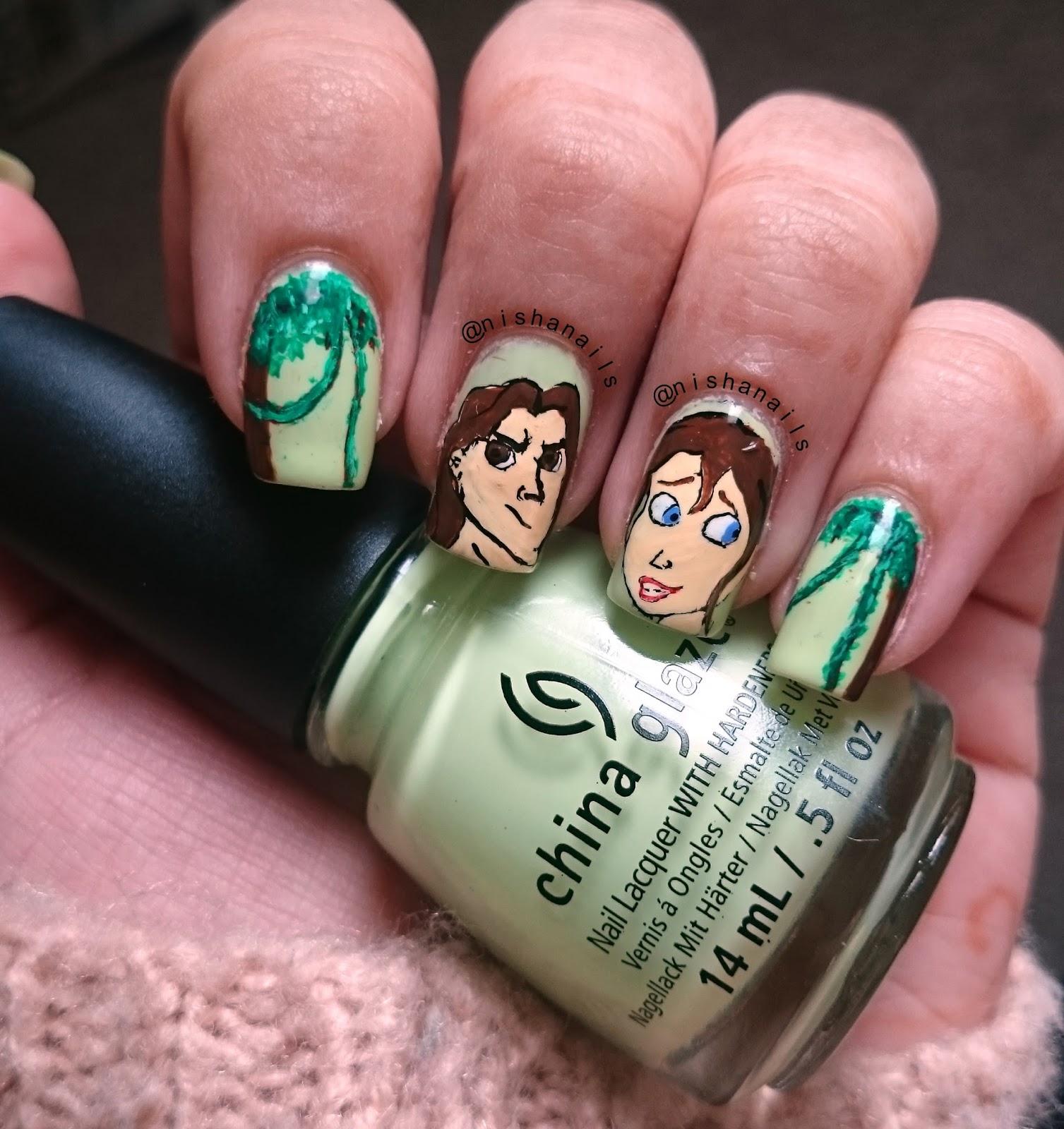 Nisha\'s Nails: Tarzan Nails