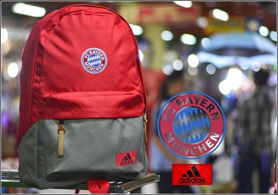 New Backpack atau Tas Bola Type D Bayern Munchen