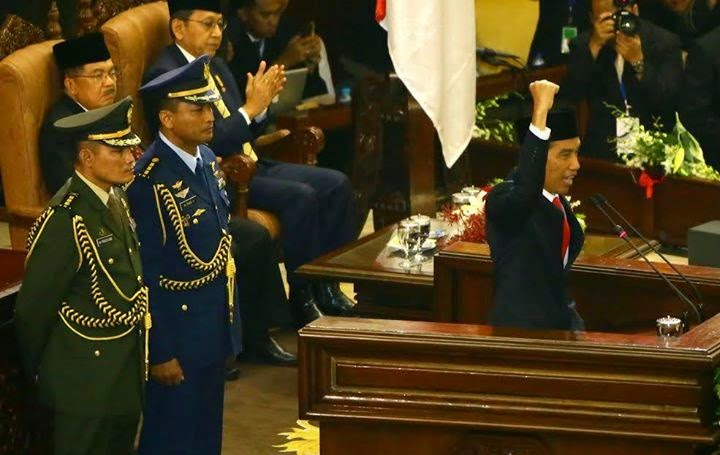 isi pidato presiden jokowidodo 20 oktober 2014 dpr mpr