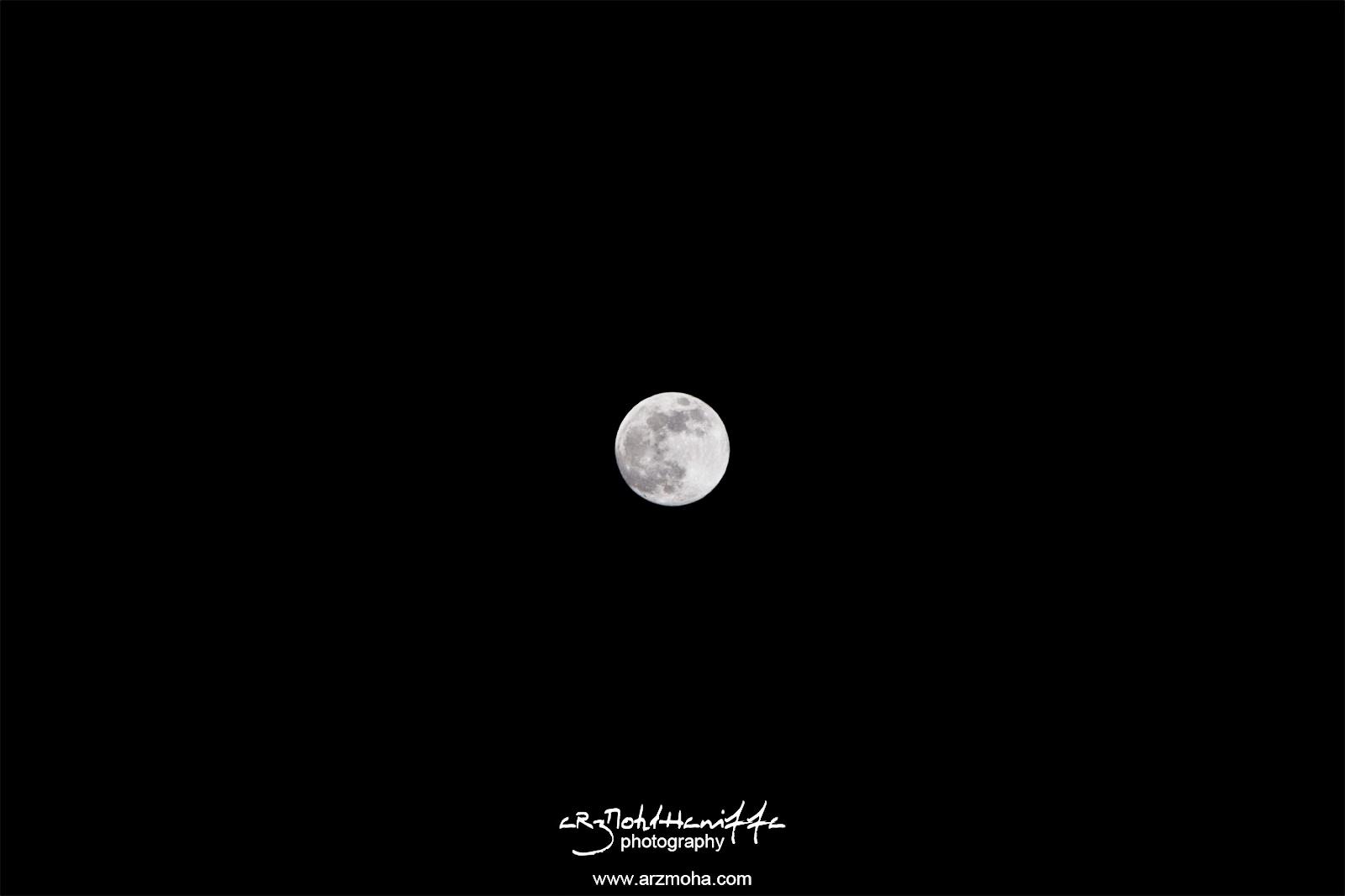 Bulan penuh, full moon, indahnya bulan, jangan jadi seperti bulan, arzmoha.com, gambar cantik, arzmohdhaniffa photography