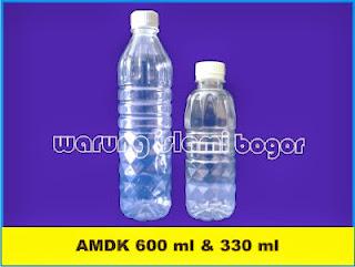 Jual Botol Aqua 600ml