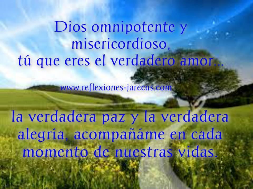Dios omnipotente y misericordioso