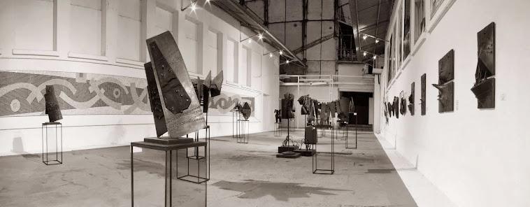 """Panorámica de la exposición """"El Viento de Ícaro"""". Museo de Arte Contemporáneo de Maracay -Venezuela"""