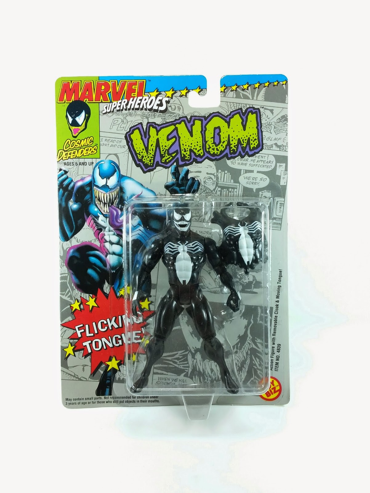 Venom Vintage Action Figure