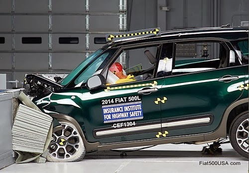 Fiat 500L IIHS Crash Test