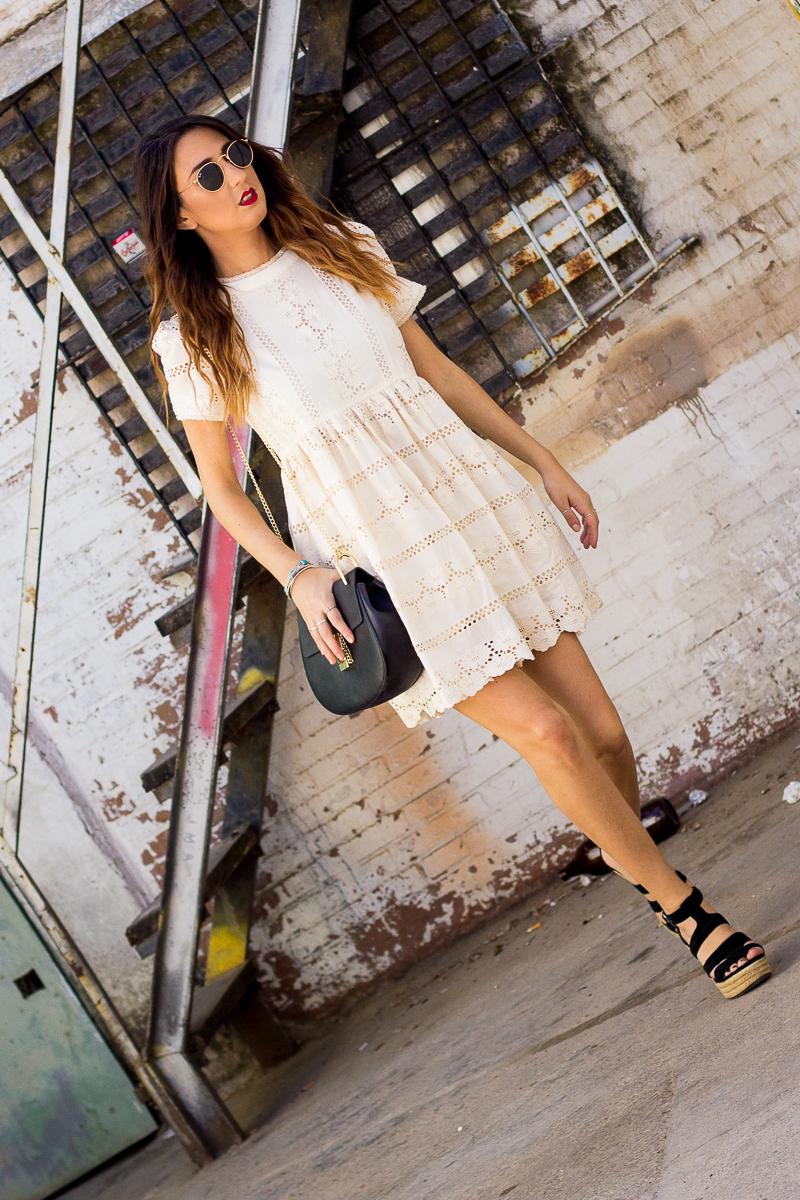 doll white dress