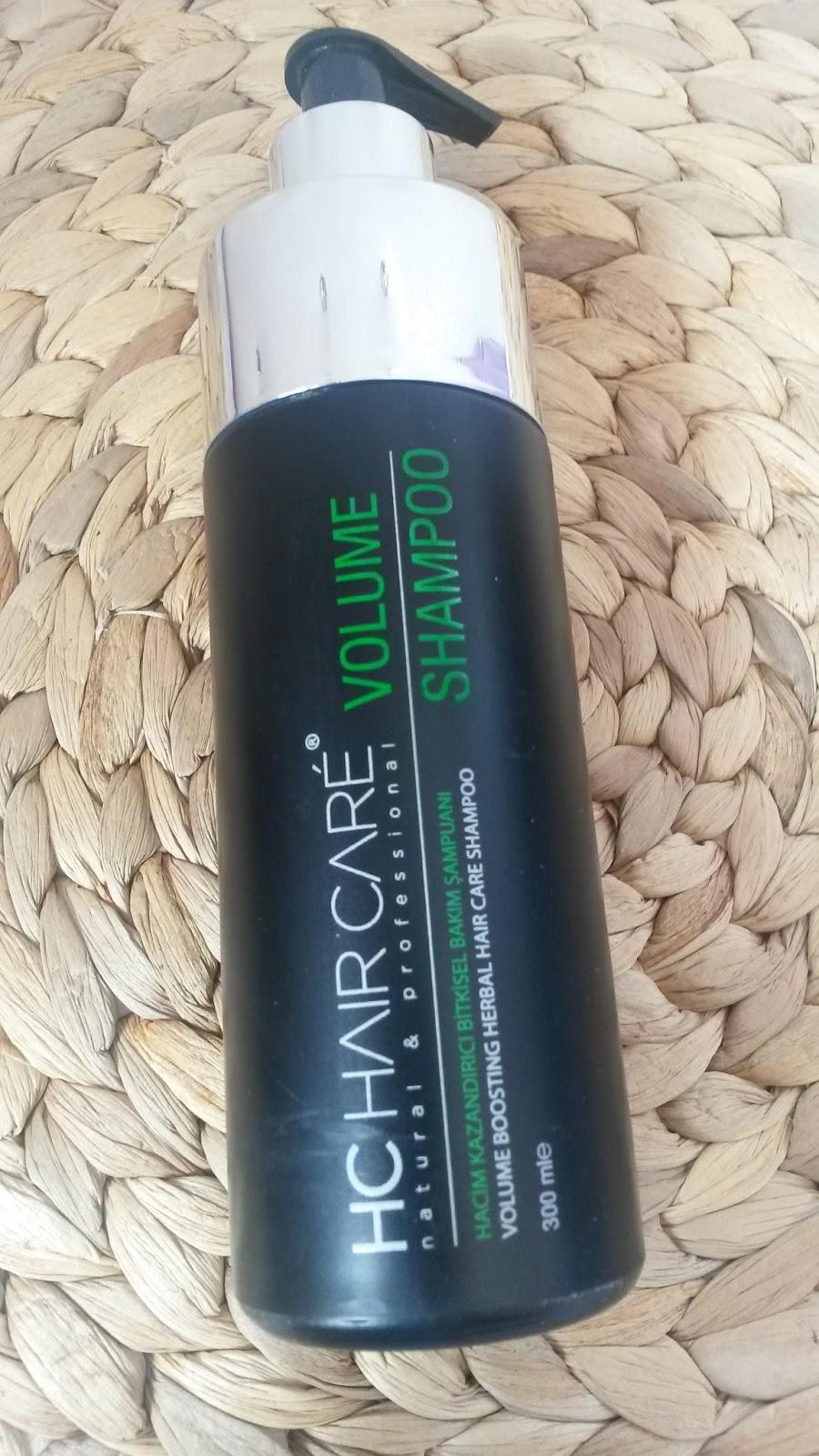 hc hair care volume shampoo
