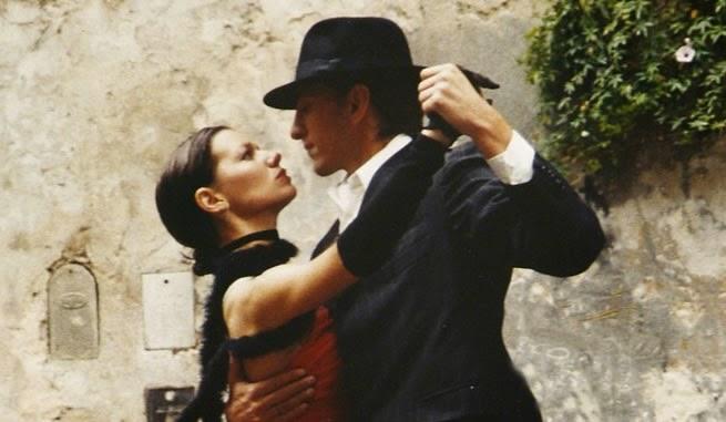 tango dansı