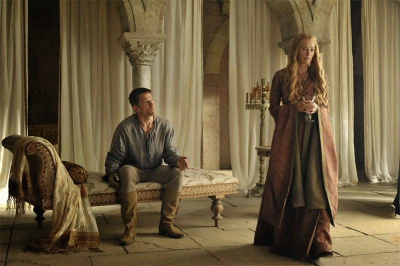 Cersei y Jamie - Imagenes de la cuarta temporada de Juego de Tronos