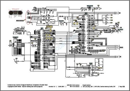 Nokia 6030 Schematic Diagram