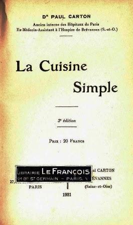 Livre La Cuisine Simple تحميل كتب الطبخ