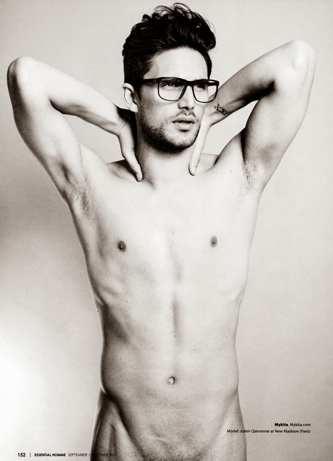 julien in spectacles for essential homme