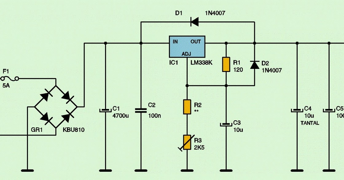 variable dc power supply pdf
