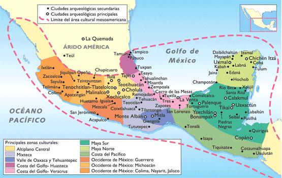 La Conquista de Mexico: Las primeras expediciones españolas y las ...