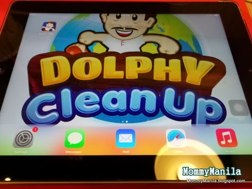 The Dolphy Clean App, by MommyManila