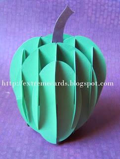 apple sliceform