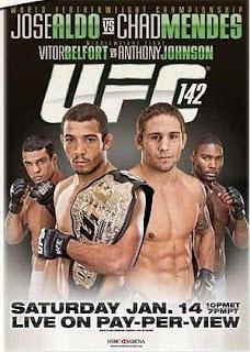 UFC 142: Aldo vs. Mendes 2012