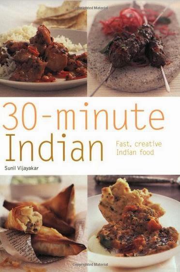 Libro de recetas 30 Minute Indian