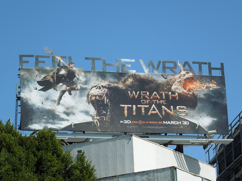 Feel the Wrath billboard