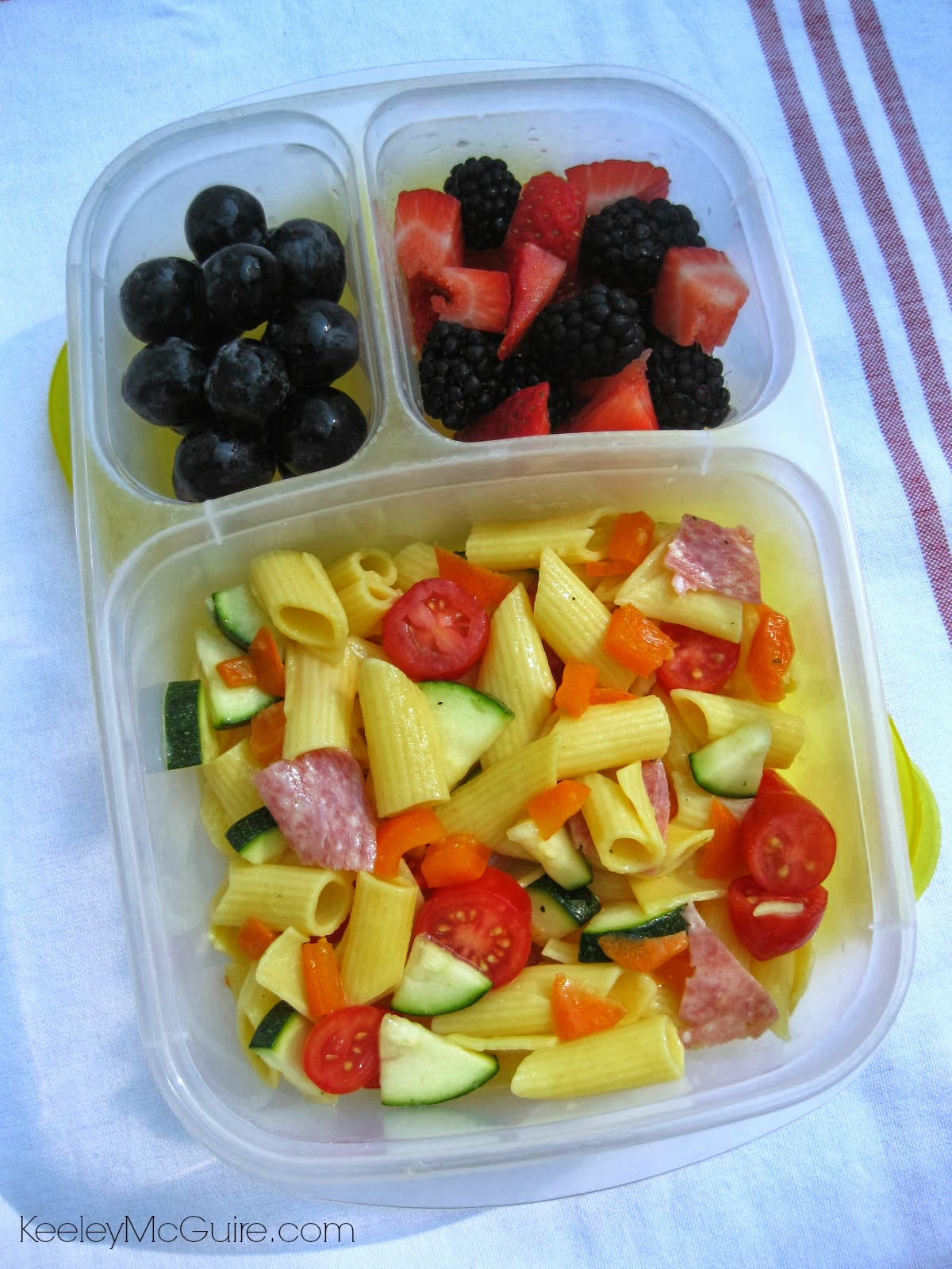 Gluten free allergy friendly lunch made easy over 25 for Cold pasta salad ideas