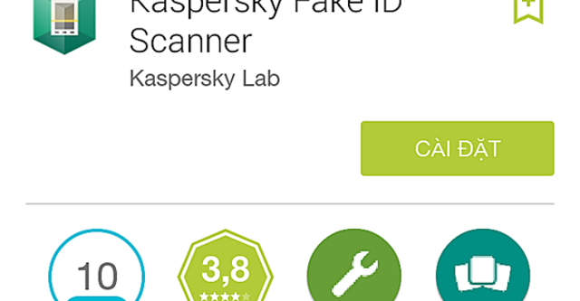 Kaspersky phát hành ứng dụng bảo vệ Android