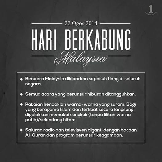 hari berkabung,Malaysia,MH17,Sedih