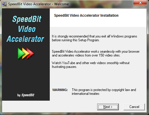 SpeedBit Video Accelerator 3.3.0.1b download