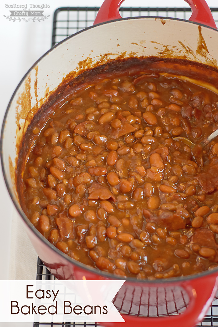 Easy Baked Beans recipe with a secret ingredient that makes the beans ...