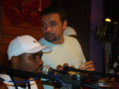 Rafael Bezerra cantor do Samba de Esquina