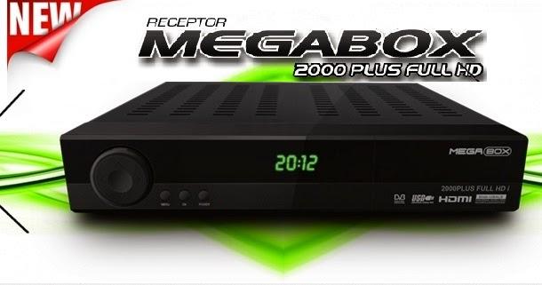 MEGABOX 3000 HD E 2000 HD PLUS ATUALIZA O 31 MAR O