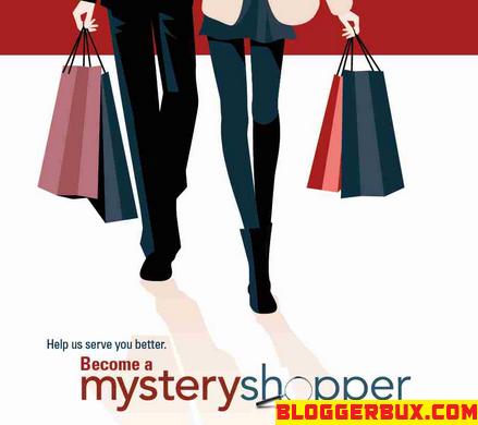 BloggerBux 50 ways to make money online doing mystery shopping