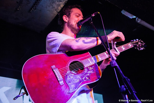 Frank Turner Gibus Rock'n'Live Marie Le Bannier Concert Paris Rock 2015 Positive Songs For Negative People I Still Believe Get Better