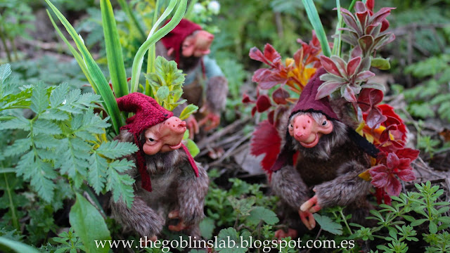 ooak fantasy creature goblin sod whistlers