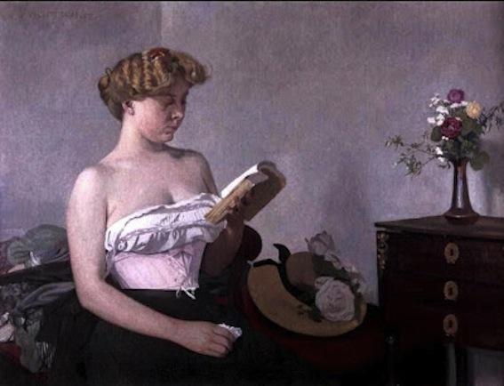 Félix Vallotton. Woman Reading,  1906