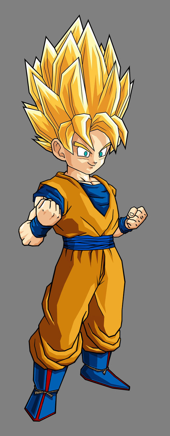 DRAGON BALL Z WALLPAPERS: Goku super saiyan 2