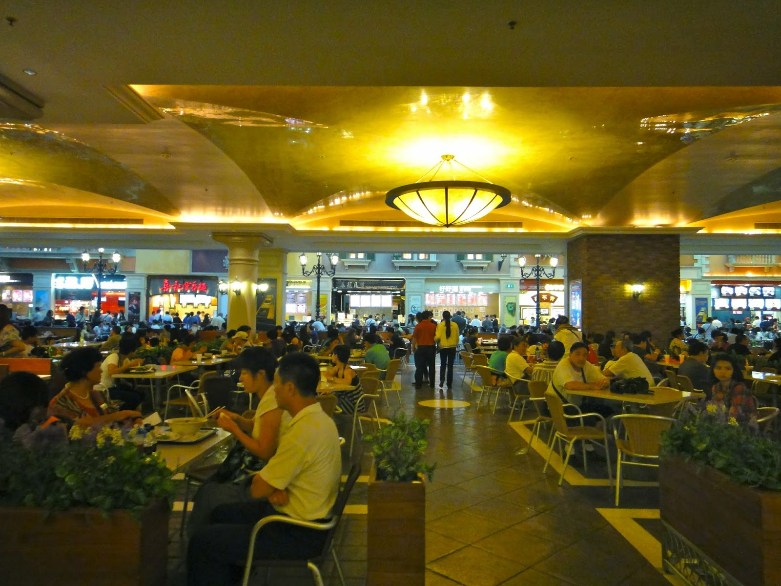 Food Court at the Venetian Macao