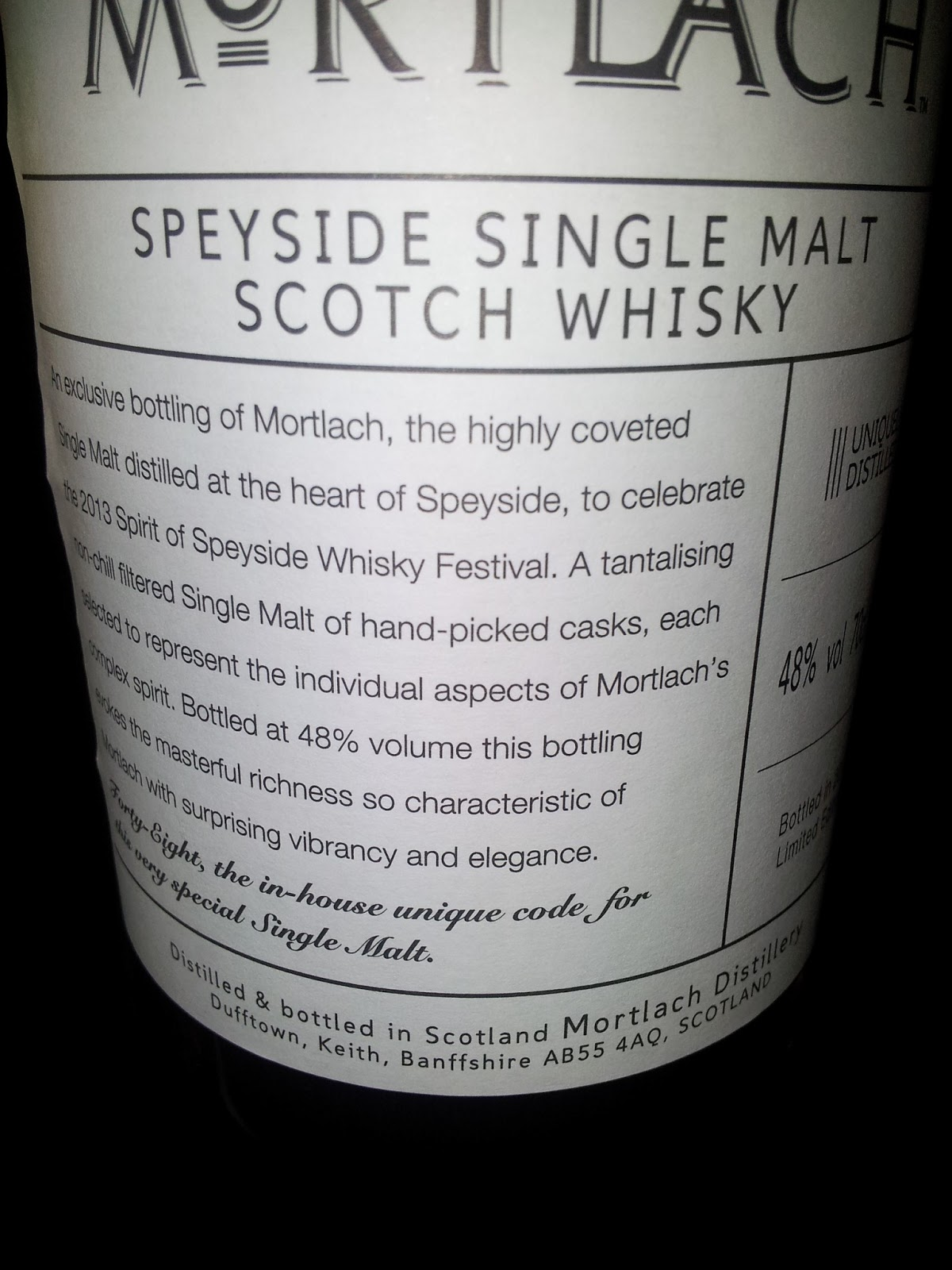 Danish Whisky Blog: Spirit of Speyside 2013 - part 4